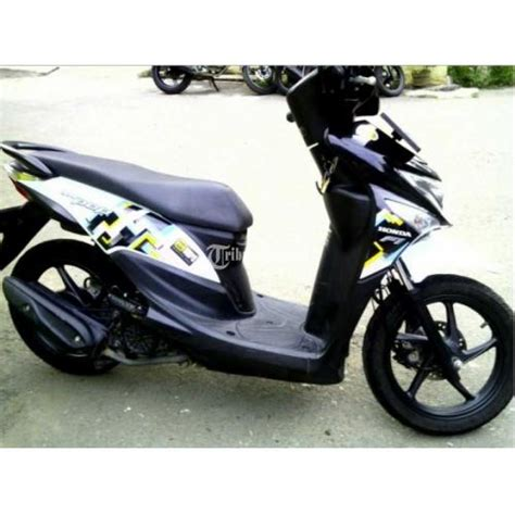 Honda Beat Pop Putih 2015 2016 motor matic honda beat pop esp tahun 2016 second warna
