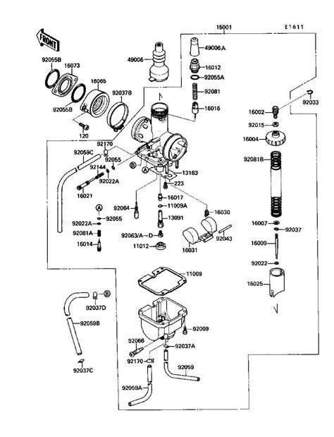 kawasaki 220 bayou wiring diagram kawasaki motorcycle