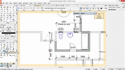 Vectorworks Callout Tip Viewport Linked Create Archoncad