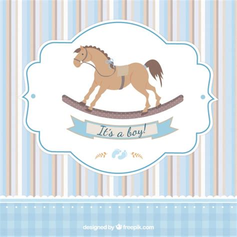 card  baby shower  vector