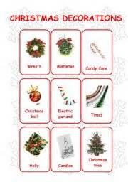 christmas decoration names and pictures ideas christmas decorating