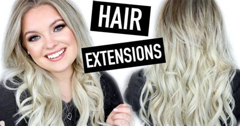 How To Clip In, Trim & Style Hair Extensions
