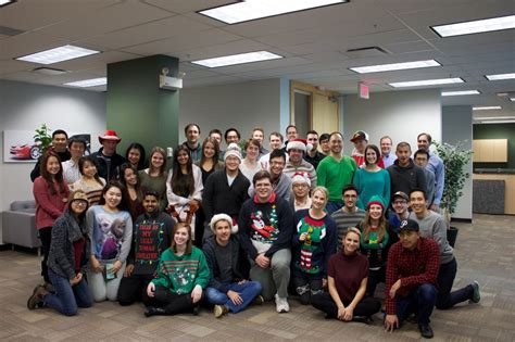best 28 christmas office large groups study people are