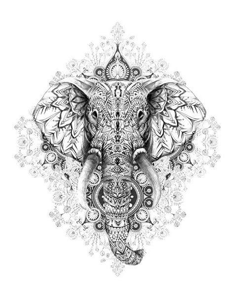 Bildergebnis für mandala | Cool Tattoo Watercolor | Design de tatouage d'éléphant, Tatouage
