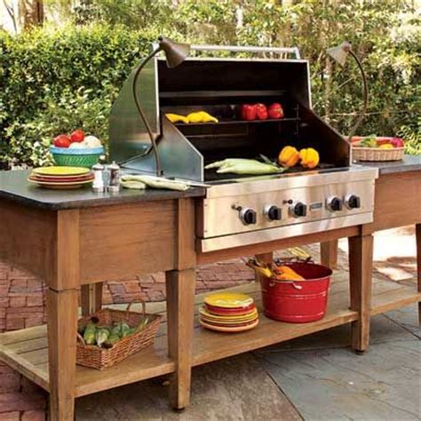 grill für outdoor küche 17 best ideas about simple outdoor kitchen on outdoor grilling grill station and
