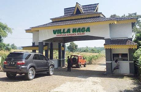 villa naga kampung jonggol penginapannet