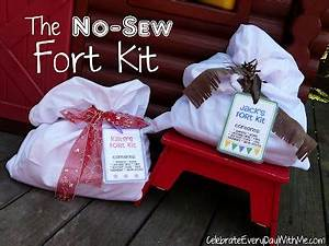 Do It Yourself No Sew Fort Kit No Sew Gift Diy Fort Kit