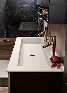 Optimiser l39espace de votre salle de bains mobalpa for Meuble double vasque petite largeur