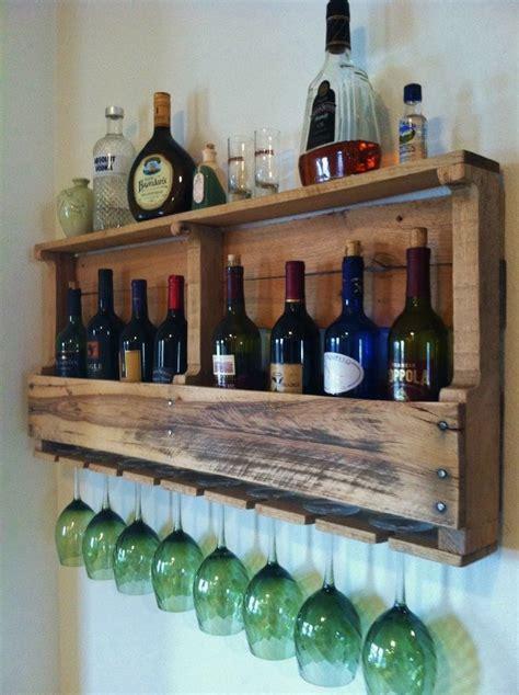 rustic wine rack 19 rustic reclaimed wood diy projects