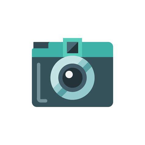 Mini Camera Flat Isolated Vector Icon Illustration 566369