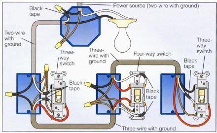 Power Light Way Switch Wiring Diagram