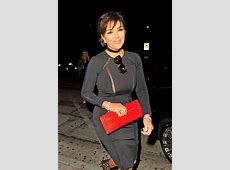 Popping Out! Kris Jenner Suffers Nip Slip In Skintight