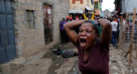 Kenyan Police Killed 13 People In Nairobi's Slums During