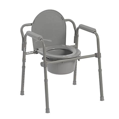 toilet chair for adults toilet seat potty commode chair bedside folding bariatric drop arm safety ebay