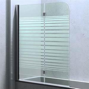 Duschwand Badewanne 160 : duschabtrennung glas satiniert ~ Lizthompson.info Haus und Dekorationen