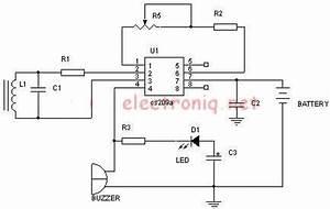 gt circuits gt metal detector schematic circuit using cs209a With metal detector circuits