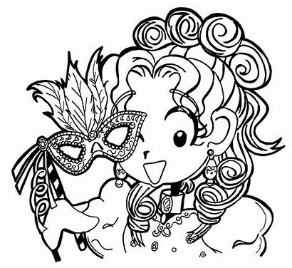 Dork Diaries Coloring Diary Pages Nikki Characters