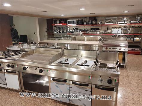 vente materiel cuisine snack maroc cuisine pro