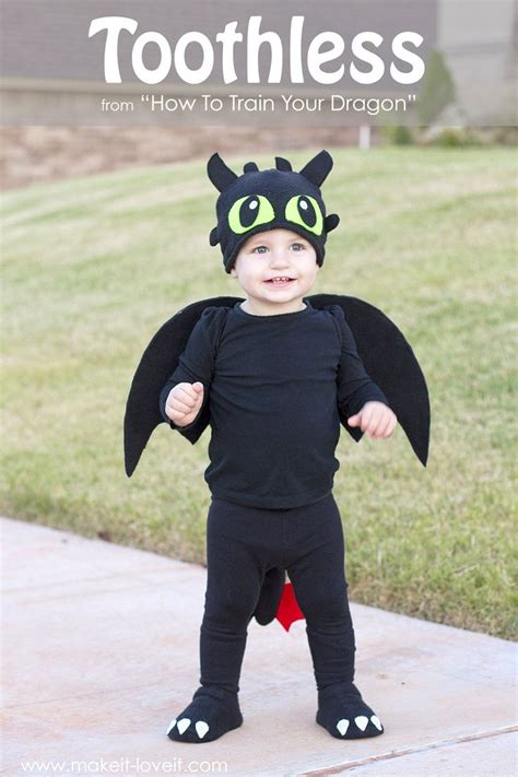 diy toothless costumefrom   train  dragon