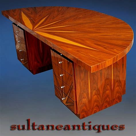 art desks for sale presidential half moon desk 98 rosewood art deco style for