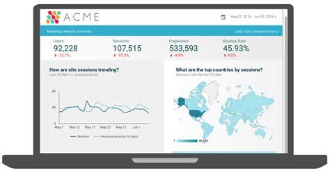 google data studio use data studio to easily create analytics