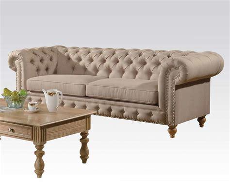 Fabric Beige Sofa Ac Semadara