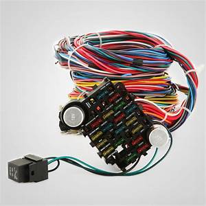 21 Circuit Wiring Harness Fit Chevy Universal Hotrods X