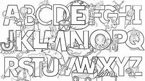 abc color page - alphabet