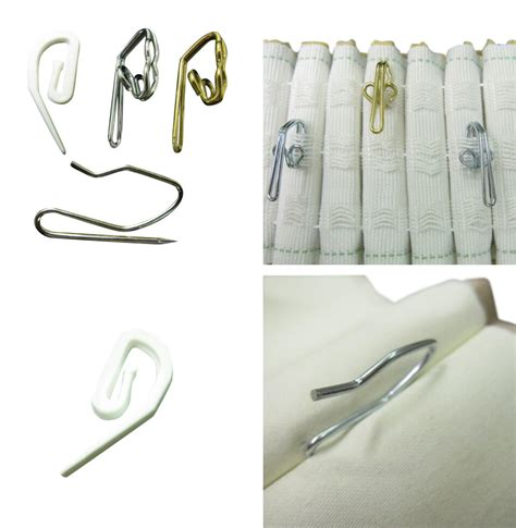 hooks for drapes curtain hooks for pleating and pinch pleat