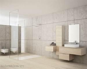 salle de bain carrelage bois With salle de bain pierre et bois