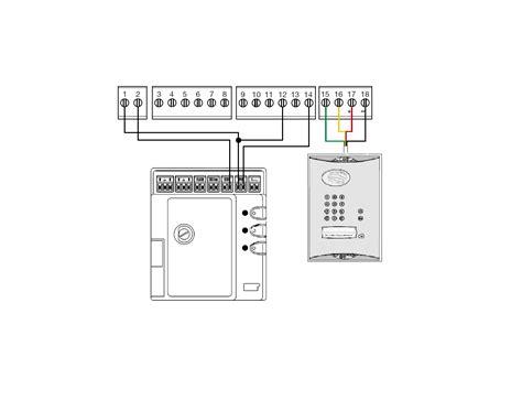 daitem  mhouse simplified wiring diagram