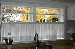 curtain ideas for kitchen windows half window curtains ideas homesfeed
