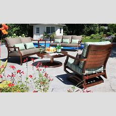 Amish Polywood 5 Piece Mission Style Patio Daisy Dining