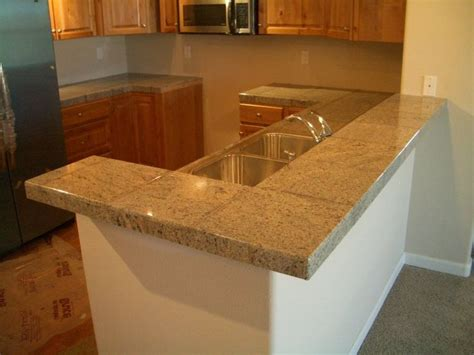 best tile for countertop kitchen 1000 images about ceramic tile countertops on 7789