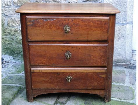 Small Dresser by Small Rustic Cherry Wood Dresser 18th