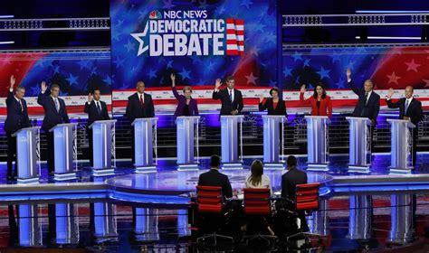 democrats clash  healthcare  feisty