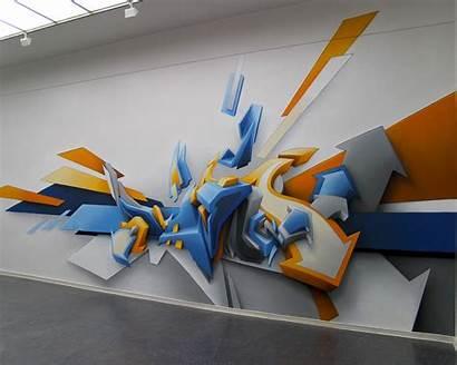 Graffiti 3d Wallpapers Awesome Wallpapersafari