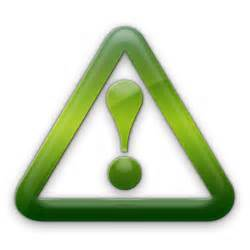 Green Warning Icon