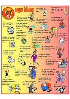 idioms images english grammar learning english
