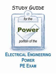 Electrical Engineering  U2013 Power Pe Exam Study Guide