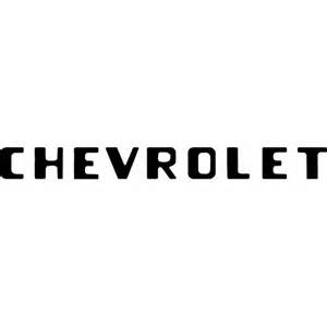 Chevrolet Font by Chevrolet Brands Of The World Vector Logos