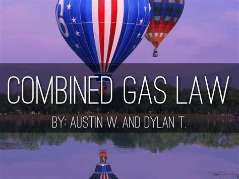 combined gas law  austin weathers