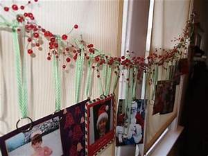 Berry Garland Christmas Card Holder christmas xmas ideas