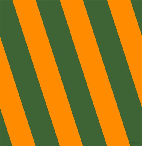 Dark Orange And Green House Stripes And Lines Seamless