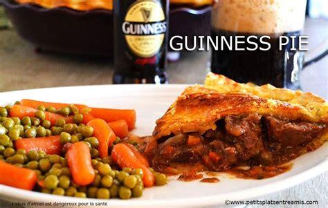 cuisine irlandaise traditionnelle guinness pie tourte irlandaise au boeuf et à la bière