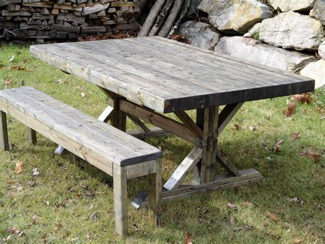 rustic butcher block table hand crafted rustic farmhouse trestle thick butcher block
