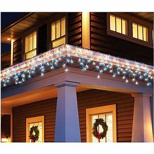50 Count Window Icicle Lights Holiday Time 300 Count Icicle Christmas Light Set Blue