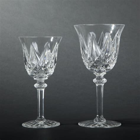 bicchieri cristallo prezzi louis otto e dieci bicchieri d acqua calici di