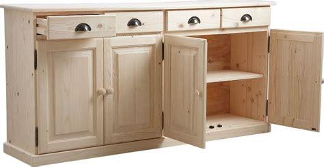 porte de cuisine en bois brut agréable porte de cuisine en bois brut 1 buffet 4