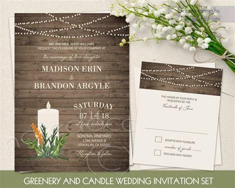 Free Rustic Wedding Invitation Templates Wedding
